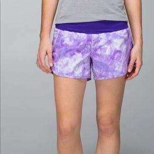 Lululemon Tracker Shorts ll  Bruised Berry